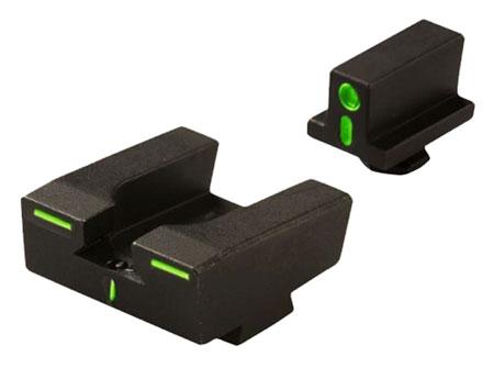 Meprolight 12224 R4E Optimized Duty Glock Full Size Green Blk
