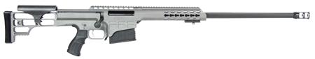 Barrett 14802 M98B Tactical Bolt 338 Lapua Magnum 24 10+1 Fixed Metal Gray Stk Gray Cerakote|Black in.