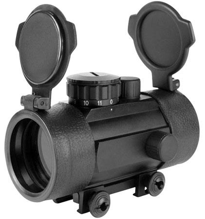 Aim Sports RT42W Red Dot Sight 1x42mm Obj Unlimited Eye Relief 3 MOA Black