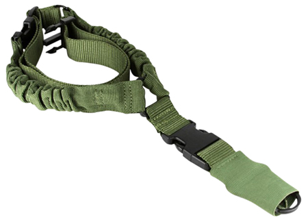 Aim Sports AOPS01G One Point Bungee Sling Swivel Size Green