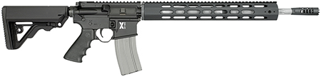 Rock River Arms XAR1751B LAR-15 X-Series Carbine Black Semi-Automatic 223 Remington|5.56 NATO 18 30+1 RRA Operator CAR Stk Black in.