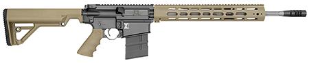 Rock River Arms X308A1751T LAR-8 X-Series 308 Carbine Tan Semi-Automatic 308 Winchester|7.62 NATO 18 20+1 RRA Operator CAR Stk Black in.