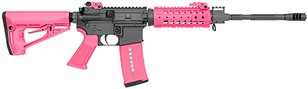 Rock River Arms AR1420P LAR-15 NSP CAR Pink Semi-Automatic 223 Remington|5.56 NATO 16 30+1 RRA Operator CAR Stk Black in.
