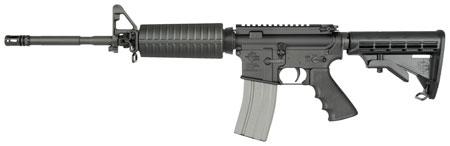 Rock River Arms AR1252 LAR-15 Entry Tactical Chrome Moly Barrel Semi-Automatic 223 Remington|5.56 NATO 16 30+1 6-Position Black Stk Black in.