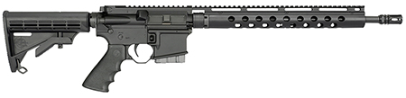 Rock River Arms MT1800 LAR-15 Lightweight Mountain Rifle Semi-Automatic 223 Remington|5.56 NATO 16 30+1 6-Position Black Stk Black in.