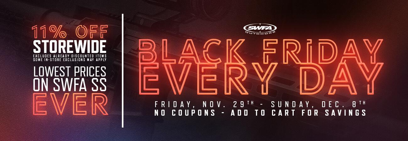 SWFA 2019 Black Friday Sale